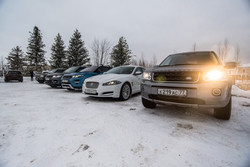 В поселке Millennium Park состоялся Jaguar Land Rover Day